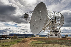 Mount Pleasant Radio Telescope UTAS