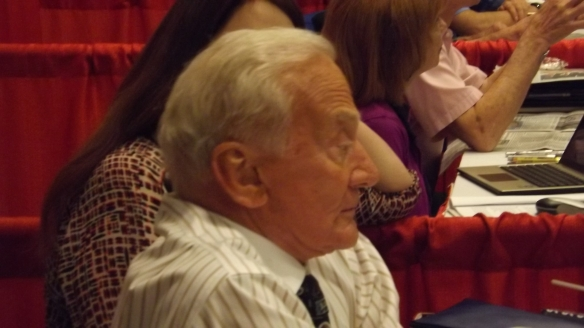 Buzz Aldrin at Spacefest 2014