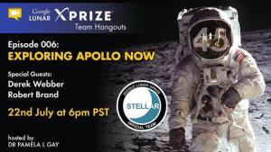 Hangout 006 GLXP Apollo 11 45th