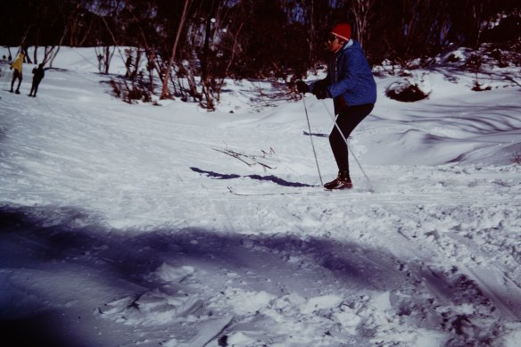 1971 Social and Sports Club Thredbo Trip Robert Skiing