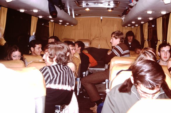 1971 Social and Sports Club Thredbo Trip The Bus Trip