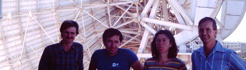 John Oxley, Robert Brand, Julie Thomas (friend) and Jeff Hinwood