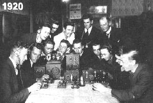 Waverly Amateur Radio Society 1920